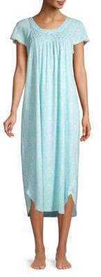 Miss Elaine Short Sleeve Nightgown
