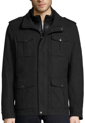 Dockers Wool Military Jacket