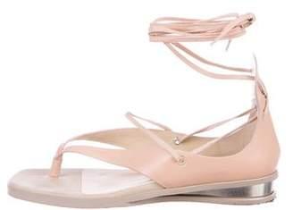 Stella McCartney Vegan Leather Multistrap Sandals