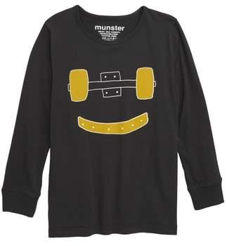 Munster Trucks Grin Long Sleeve T-Shirt