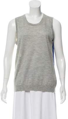 Derek Lam Silk-Cashmere Sleeveless Sweater