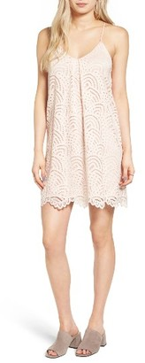 Women's Everly Lace Shift Dress $55 thestylecure.com
