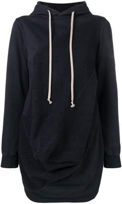 Rick Owens deconstructed hoodie