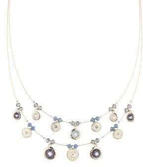 lonna & lilly Crystal Multi-Strand Necklace