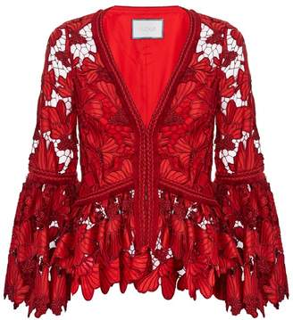 Alexis Vinton Floral Embroidered Top