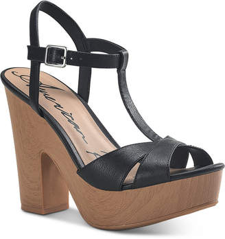 American Rag Jamie T-Strap Platform Dress Sandals, Women Shoes