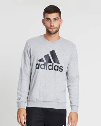 adidas Must Haves Badge of Sport Crew French Terry Sweatshirt
