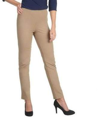 Women With Control Women with Control Petite Pull-on Slim Leg Pants