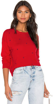 Sundry Stars + Hearts Crew Neck Sweater