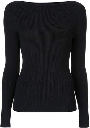 Dion Lee shadow ribbed knit top
