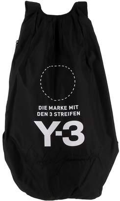 Y-3 Y 3 Black Fabric Backpack