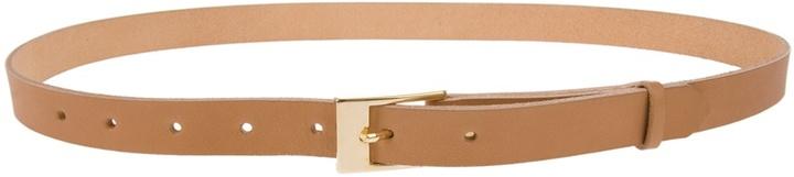 AWAI - Skinny leather belt