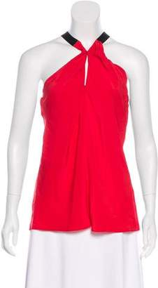 Ramy Brook Sleeveless V-Neck Top w/ Tags