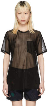 Acne Studios Black Batumi Plain T-Shirt