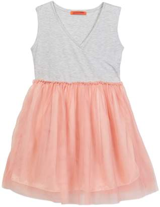 Funkyberry Tulle Skirt Dress (Toddler & Little Girls)