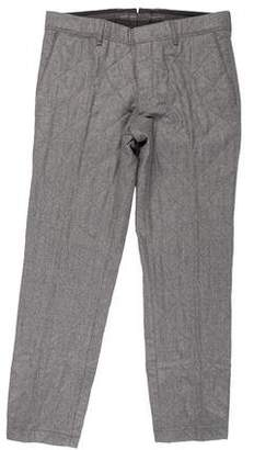 Moncler Wool Quilted Sport Pants