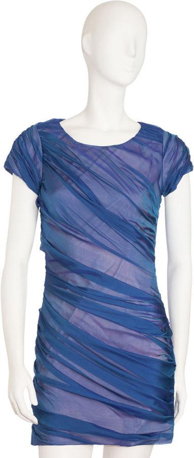 Diane von Furstenberg Erosa Dress - Pool Blue