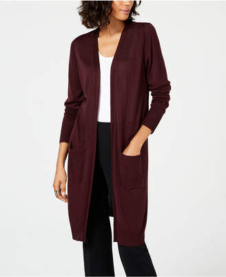 Alfani Midi Pocket Cardigan