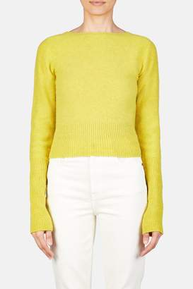 Lemaire Fitted Sweater - Lemon Yellow