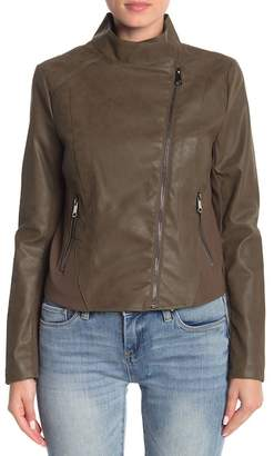 Andrew Marc Valerie Faux Leather Jacket