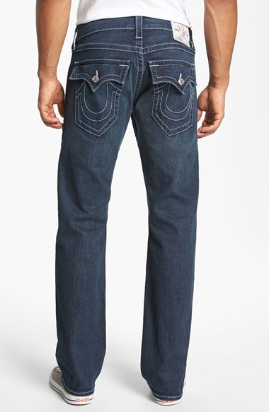 True Religion Brand Jeans 'Ricky' Stretch Relaxed Fit Jeans (Monte)