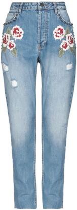 Silvian Heach Denim pants - Item 42700951PH
