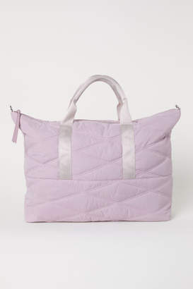 H&M Quilted Weekend Bag - Pink