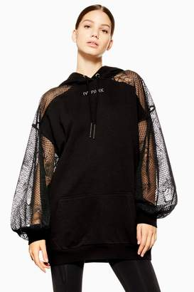 Ivy Park Lace Hooded Dress