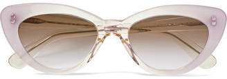 Illesteva Pamela Cat-eye Acetate Sunglasses - Lilac