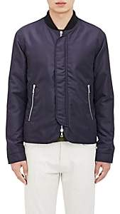 Officine Generale Men's Tech-Canvas Bomber Jacket - Navy