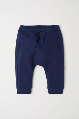 H&M Pique Joggers - Blue