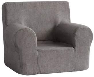 Pottery Barn Kids Charcoal Basketweave Slub Anywhere Chair®