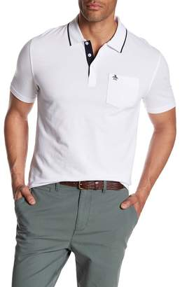 Original Penguin Birdseye Slim Fit Polo