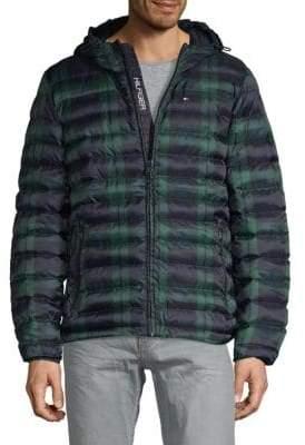 Tommy Hilfiger Plaid Puffer Jacket