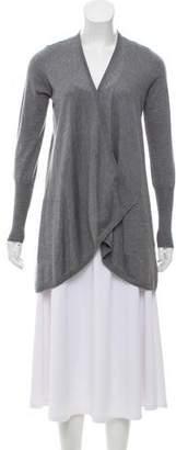 Brunello Cucinelli Belted Silk-Cashmere Cardigan