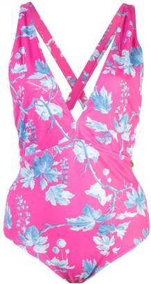 Carolina Herrera floral print swimsuit