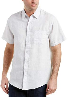 Trunks Surf & Swim Co. Maui Linen-Blend Woven Shirt
