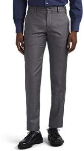 Marco Pescarolo Men's Voyager Wool Twill Trousers - Medium Gray