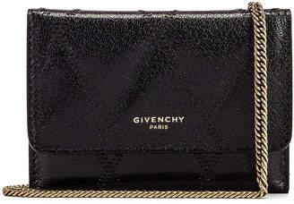 Givenchy Chain GV3 Card Case in Black | FWRD