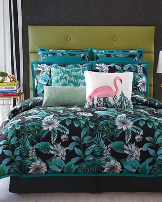 Christian Siriano Tropicalia Dark Comforter Set