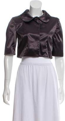 Dolce & Gabbana Cropped Jacket Grey Cropped Jacket