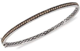 LeVian Le Vian Diamond Chocolate Bangle (1 ct. t.w.) in 14k Rose, Yellow or White Gold