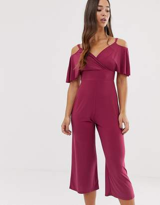 Love cross over jumpsuit