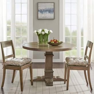 Home Essence Valerie Jacquard Square Chair Pad Pair