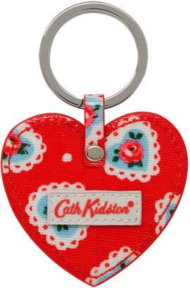 Cath Kidston Lace Hearts Heart Key Fob