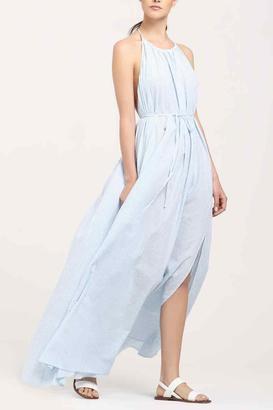 PAISIE Cotton Maxi Dress $166 thestylecure.com