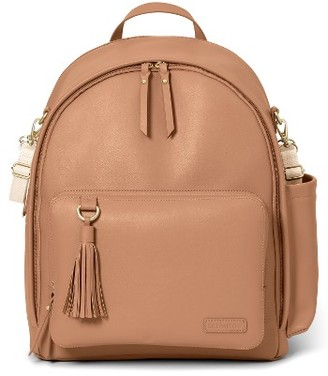Infant Skip Hop Greenwich Simply Chic Diaper Backpack - Brown $100 thestylecure.com