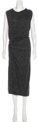 Etoile Isabel Marant Ruche-Accented Maxi Dress