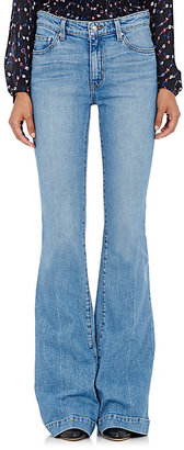 Derek Lam 10 Crosby Women's Noha Flared Jeans $255 thestylecure.com