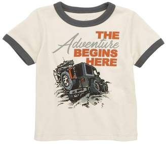 Peek The Adventure Begins Here Graphic T-Shirt (Baby Boys)